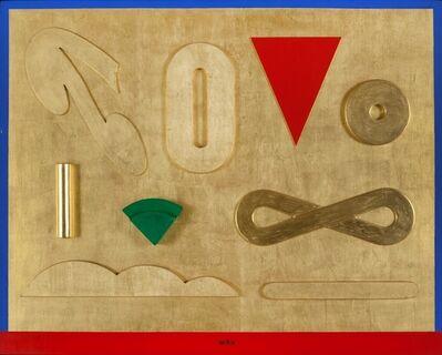 Lucio del Pezzo, 'Il segno dell'infinito', 1996