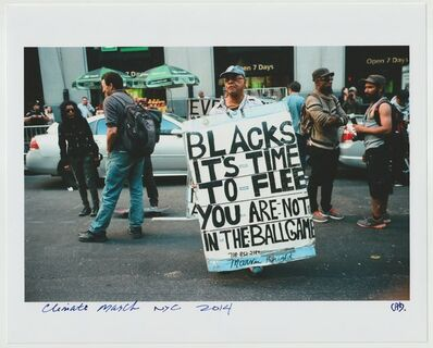 Cheryl Dunn, 'Climate March NYC ', 2014