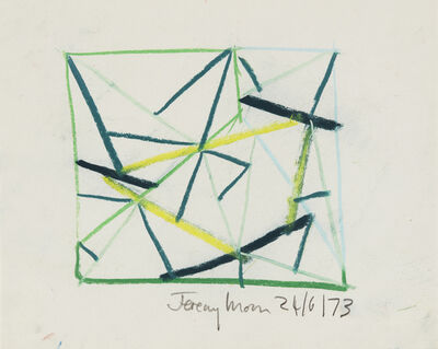 Jeremy Moon, 'Drawing [24/6/1973]', 1973