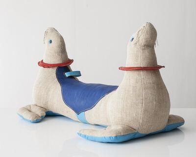 """Renate Müller, 'Double-face """"Therapeutic Toy"""" Seal', 2013"""