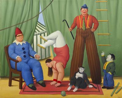 Fernando Botero, 'Circo ', 2008