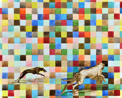 Slava Seidel, 'Hundeträume', 2018