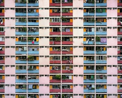 Michael Wolf (b. 1954), 'Architecture of Density, Scout Shots #15', 2005-2012