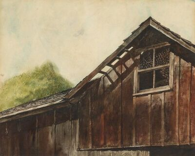 Jamie Wyeth, 'Barn Roof'