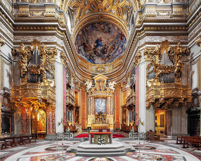 MAC OLLER, 'Chiesa Nuova II, Rome, Italy, Churches of Rome', 2019