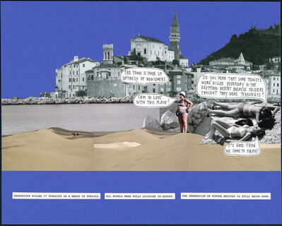 Polonca Lovšin, 'Everything's Moving (Tourists, Migrants, and Natives)', 2016