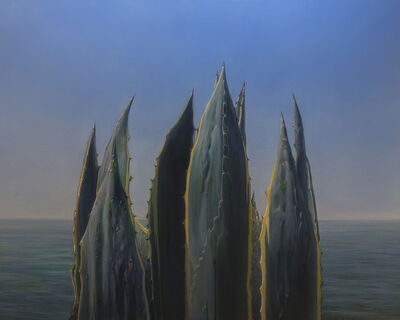Brooks Anderson, 'Cathedral - agave and sea oil paitning', 2020