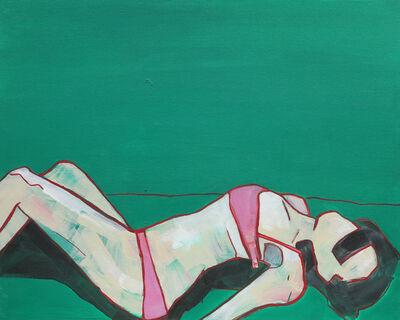 Michaela Rinaldi, 'Girl with the pink bra I', 2015