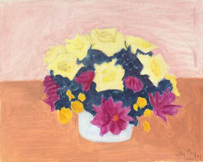Sally Michel, 'Bouquet (Yellow Purple) ', 1981