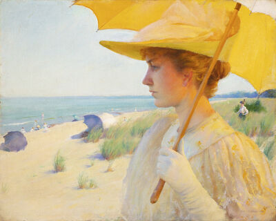 Charles Courtney Curran, 'On the Shores of Lake Erie', 1893