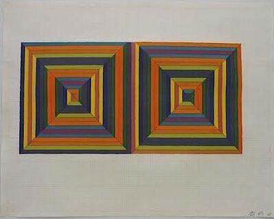 Frank Stella, 'Fortin de las Flores', 1967