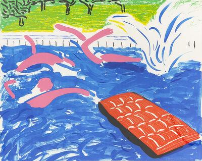 David Hockney, 'Afternoon Swimming', 1979