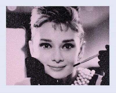 Russell Young, 'Audrey Hepburn ( Diamond Dust)', 2018