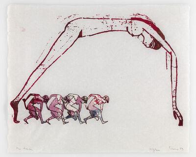 Nancy Spero, 'The Dance', 1993