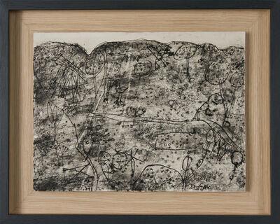 Jean Dubuffet, 'Sans titre (paysage grotesque)', 1949
