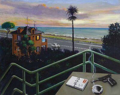 Sergio Ceccotti, 'Sguardo sul litorale', 2013