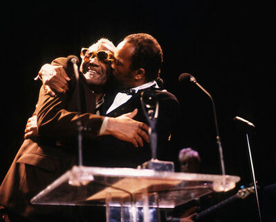 Lynn Goldsmith, 'Ray Charles and Quincy Jones'