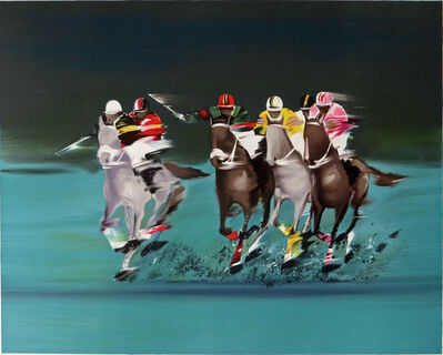 Victor Spahn, 'Polo Players', ca. 2000