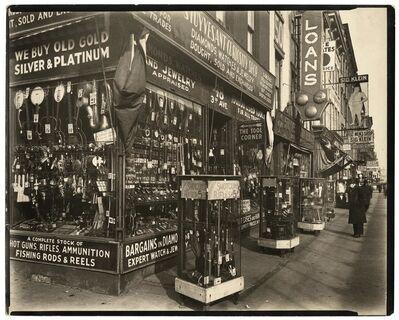 Berenice Abbott, 'Pawn Shop 48 3rd Avenue, Manhattan.', 1937