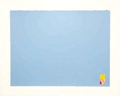 Marc Vaux, 'Untitled (Blue)', 1971