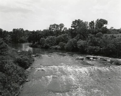Frank Gohlke, 'Texas Memories #4: Wichita River, between Petrolia and Charlie, Texas', 1984/1988-92
