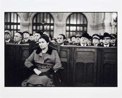 Alecio De Andrade, 'Simone Veil, 1975, Paris, Synagogue De La Victoire'
