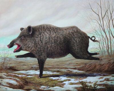 Bruno Pontiroli, 'Le Pieds De Cochon', 2019