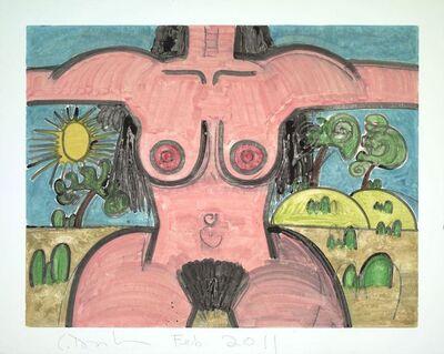 Carroll Dunham, 'Untitled, Feb 2011', 2011