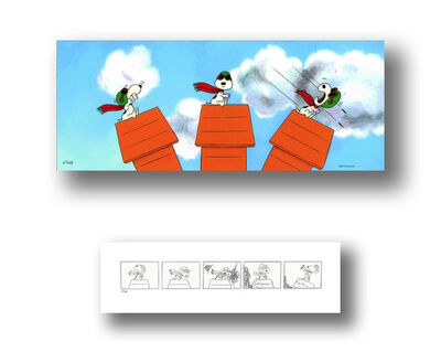 Peanuts, 'Snoopy's Dogfight', 2013