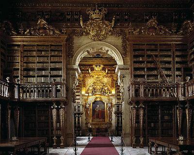 Massimo Listri, 'Coimbra Library, Biblioteca de Coimbra, Portugal | World Libraries', 1992