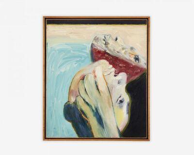 Gilberto Navarro, 'GAN327 Doble máscara y el mar', 1989