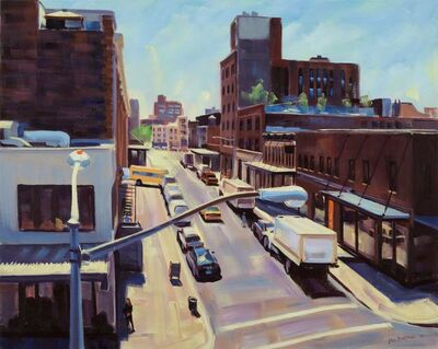 Ellen Bradshaw, 'Little West 12th & Washington Street II', 2013