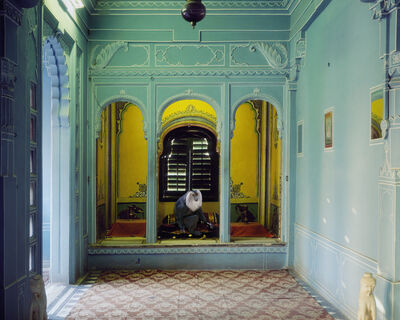 "Karen Knorr, 'Solitude of the Soul, Udaipur City Palace. From the series ""India Song""'"