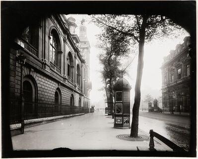 Eugène Atget, 'Street View with Kiosk, Paris', 1910s-1920s
