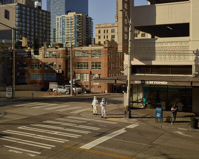 Oli Kellett, 'Cross Road Blues (Virginia St, Seattle)', 2018