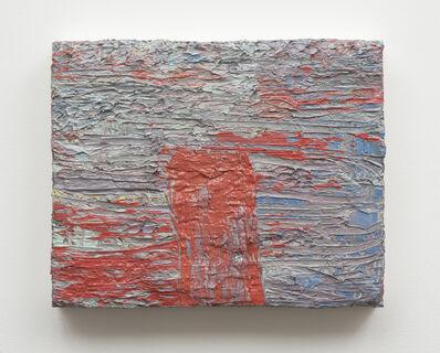Helmut Dorner, 'Rot im Blau', 2009