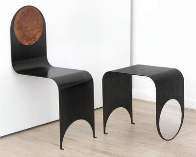 Kin & Company, 'Thin Chair & Table', 2017