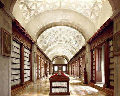 Massimo Listri, 'Archivio delle Indie II, Siviglia ', 1990