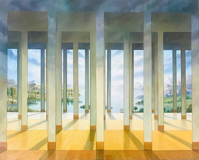 Homero Aguilar, 'Galeries des Glaces', 2003