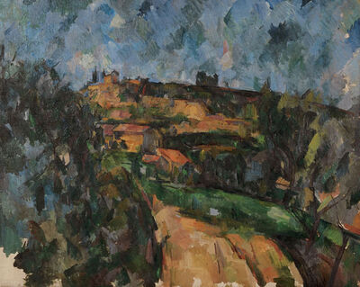 Paul Cézanne, 'La route tournante en haut du chemin des Lauves (Bend of the Road at the Top of the Chemin des Lauves)', 1904-06