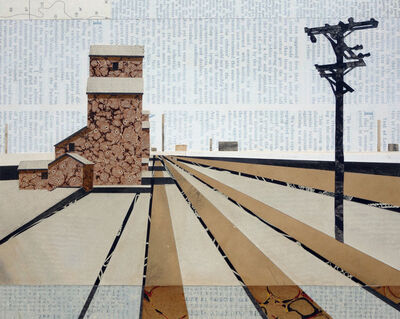 William Steiger, 'Elevators and Tracks ', 2018