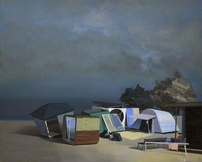 Ulf Puder, 'Stadtlandschaft 1', 2020