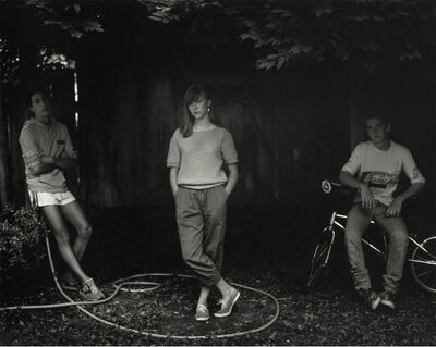 Sally Mann, 'Rebecca and the Hose', 1985