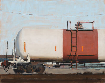 Stephanie Hartshorn, 'Westbound Orange', 2013
