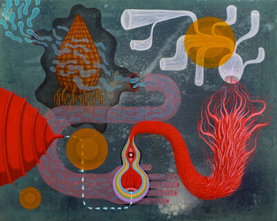 Mark S. Nelson, 'Cosmic Waveguide Reception', 2014