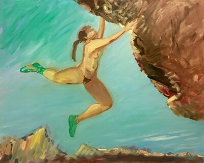 Deborah Brown, 'Rock Climber 1', 2018