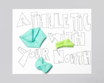 Jeanie Riddle, 'ATHLETIC WITH YOUR MOUTH', 2015-2016