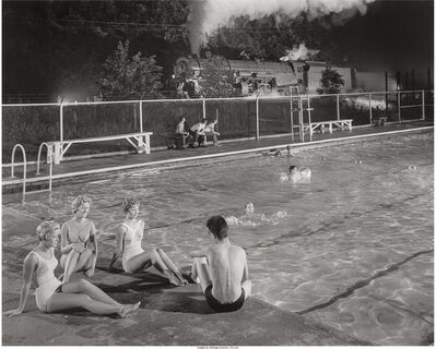 O. Winston Link, 'Swimming Pool, Welsh, West Virginia', 1958
