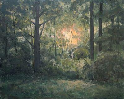 Albert Hadjiganev, 'Soir dans la forêt', 2018