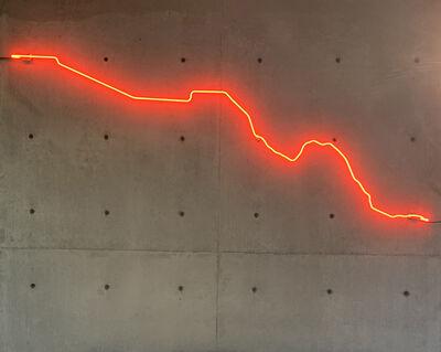 Julio Cesar Morales, 'Broken Line', 2019